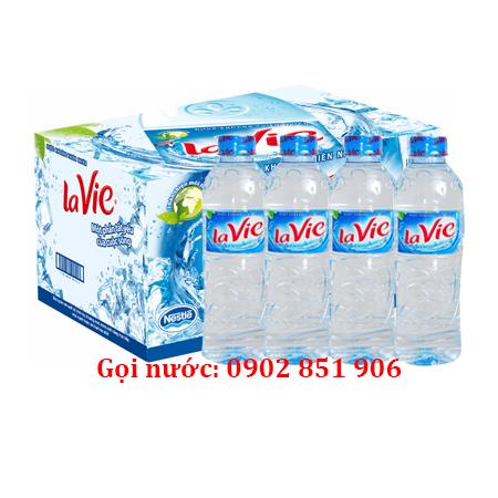 Giao nước khoáng Lavie 500ml