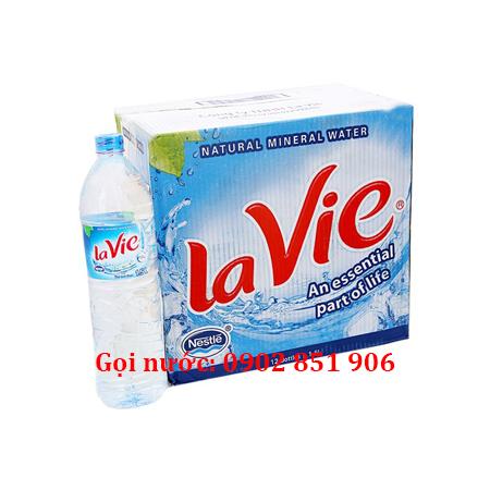 Giao nước khoáng Lavie 1.5l